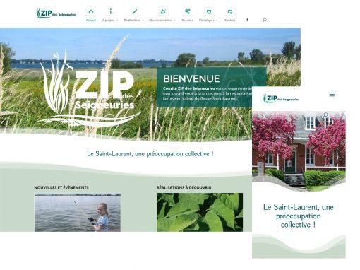 DESIGN WEB | Client ZIP DES SEIGNEURIES